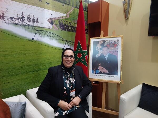 خديجة بن دريس مديرة تنمية التسويق للمنتجات المجالية بوزارة الفلاحة المغربية