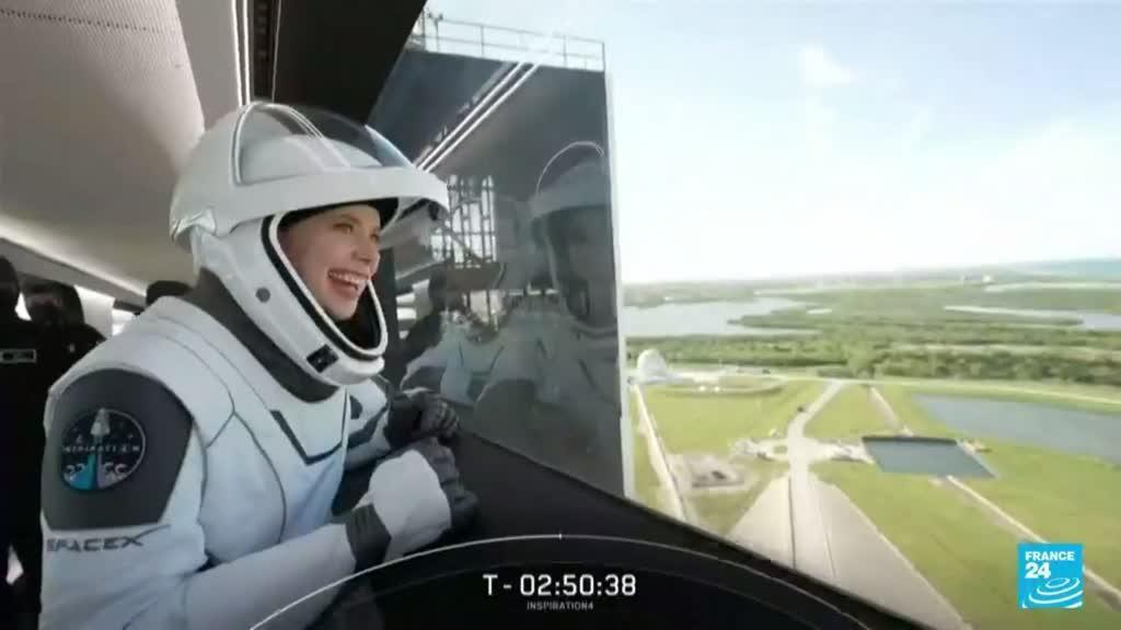 2021-09-16 17:13 El primer vuelo espacial con tripulación civil ya está en órbita