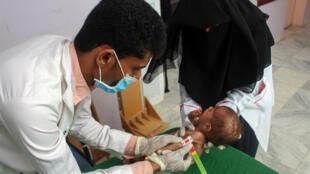 Famine Yémen