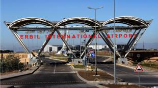 L'aéroport d'Erbil, la capitale du Kurdistan irakien.