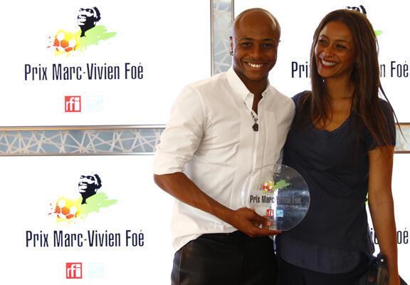 جائزة مارك فيفيان فوي: أندري أيو أفضل لاعب أفريقي في الدوري الفرنسي