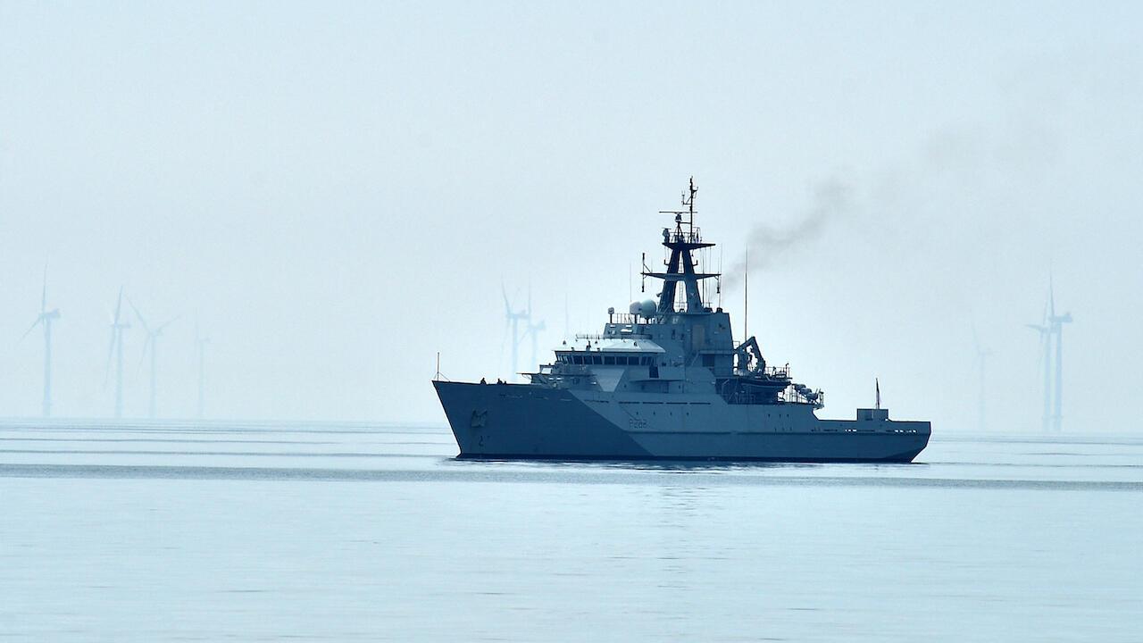 UK British Navy HMS Severn file Jersey