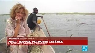 """2020-10-08 21:09 Libération de Sophie Pétronin : """"Elle a profité de la dynamique liée à la libération de Soumaïla Cissé"""""""