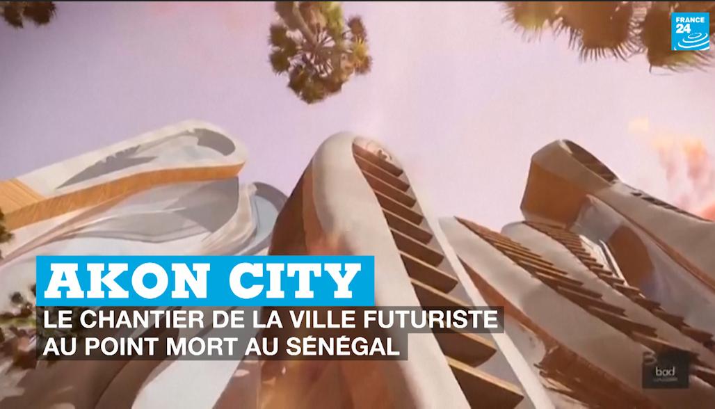 Akon City : le chantier de la ville futuriste au point au mort