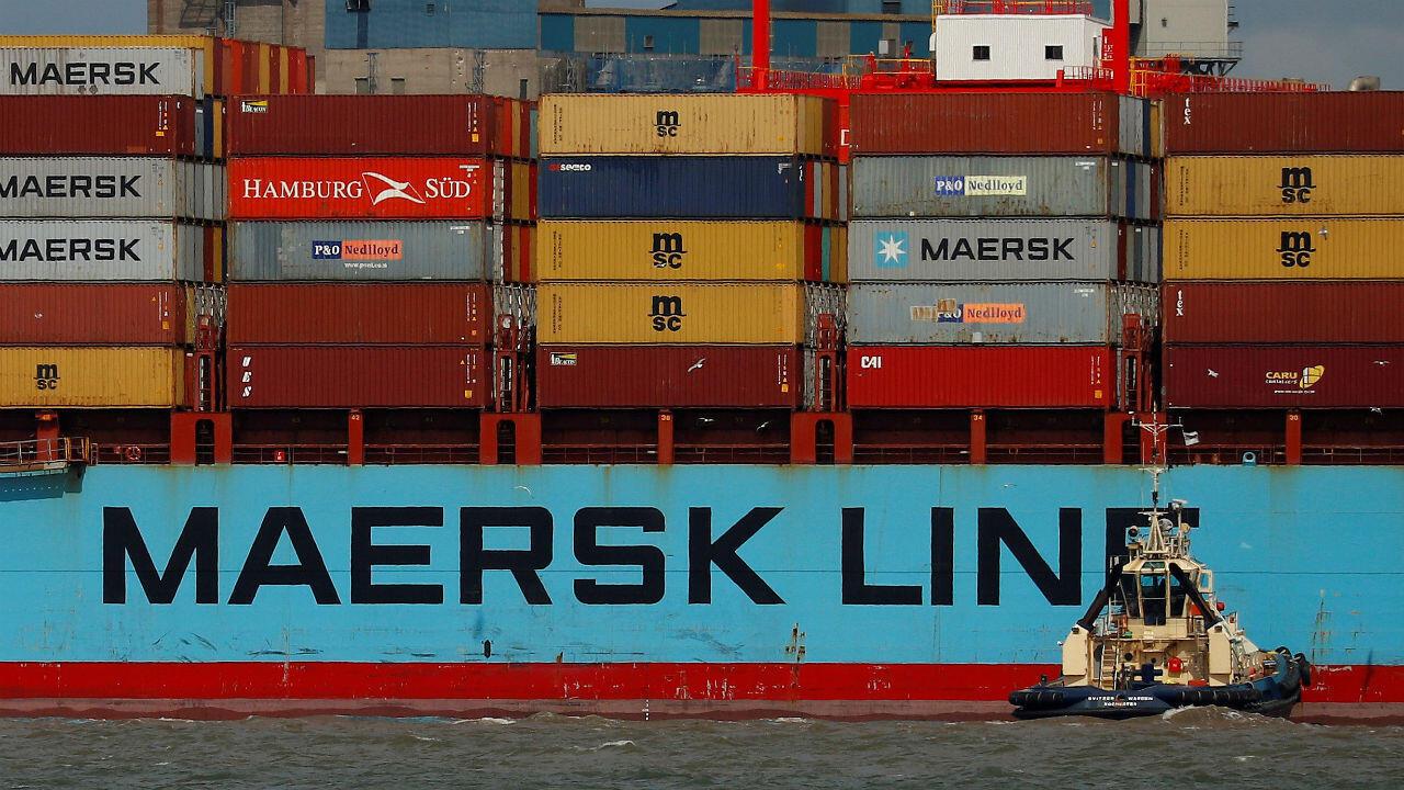 El intercambio comercial de bienes entre China y Estaods Unidos ascendió a US$635.000 millones en 2017.