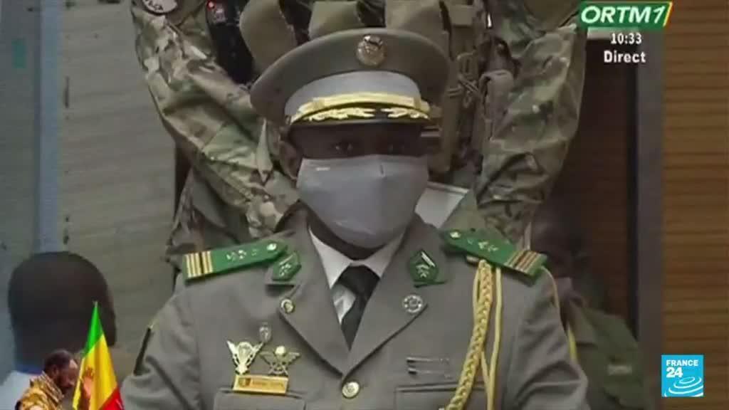 2021-06-07 18:01 Investiture d'Assimi Goïta : quel avenir politique pour le Mali ?
