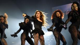 """Beyoncé durant le """"Formation World Tour"""", 2016."""