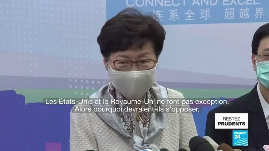 2020-06-04 11:06 À Hong Kong, les rassemblements en commémoration de Tiananmen interdits