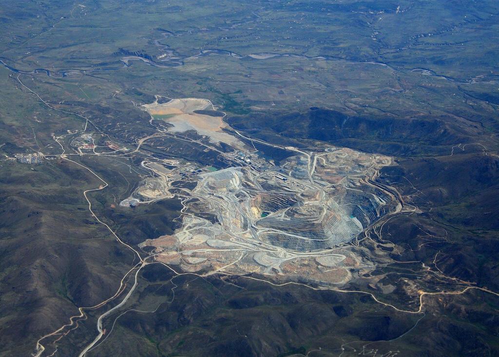 Mine de Tintaya (cliquer sur l'image pour l'agrandir)