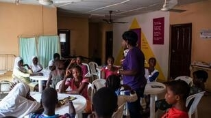 Condoms, the pill and hormonal implants are freely available at the local 9ja Girls centre