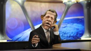 """Depuis 1988, """"PPD"""", la marionnette du journaliste et présentateur Patrick Poivre d'Arvor, anime quotidiennement  """"Les Guignols de l'info"""" ,"""