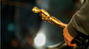 Lors des répétitions de la 90e cérémonie des Oscars, qui a lieu le 4 mars 2018 à Hollywood, en Californie.