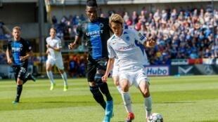 Matches de Pro League entre Club Brugge et Genk, le 1er septembre 2019 à Brugge