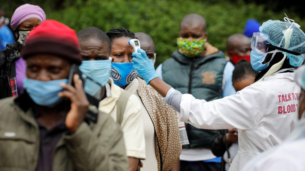 La principal preocupación en el continente tiene que ver con la baja cantidad de pruebas que se han realizado hasta el momento, y que no permiten dimensionar el impacto de la pandemia. Nairobi, Kenia. 26 de mayo de 2020.