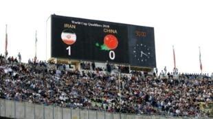 """صورة لملعب """"آزادي"""" في طهران"""