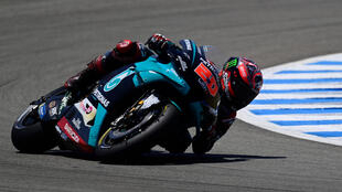 Quartararo is the early championship leader after his maiden win last week