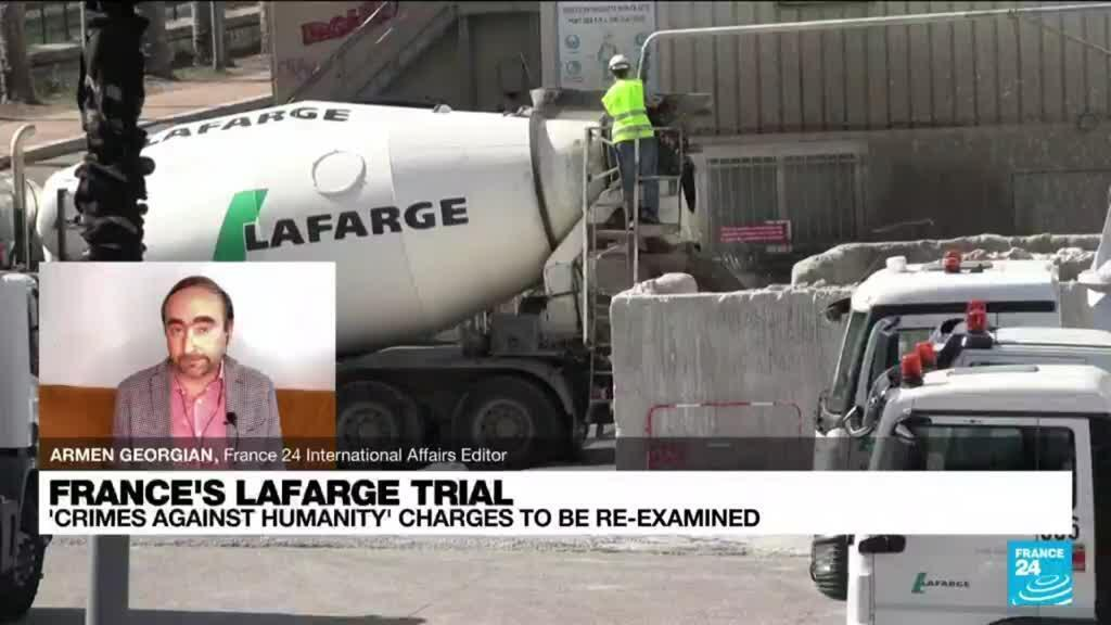 2021-09-07 15:03 France's Lafarge loses ruling in Syria 'crimes against humanity' case