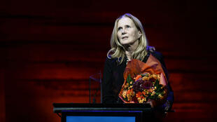 La poétesse Katarina Frostenson, dont le mari est accusé de harcèlement sexuel par la presse suédoise.
