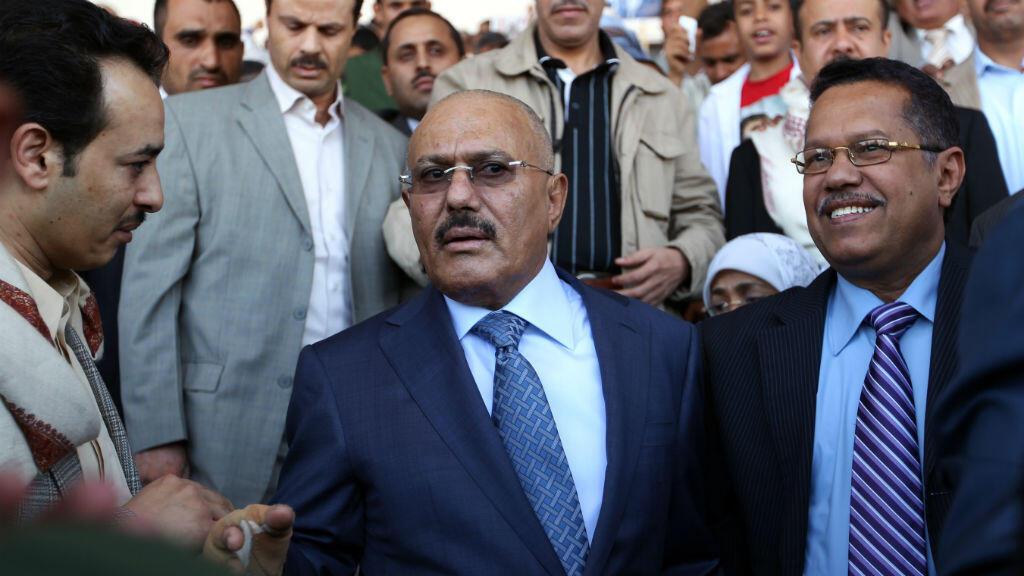 L'ancien président yéménite Ali Abdallah Saleh avait quitté le pouvoir en 2012 au terme d'une année de contestation populaire contre son régime.