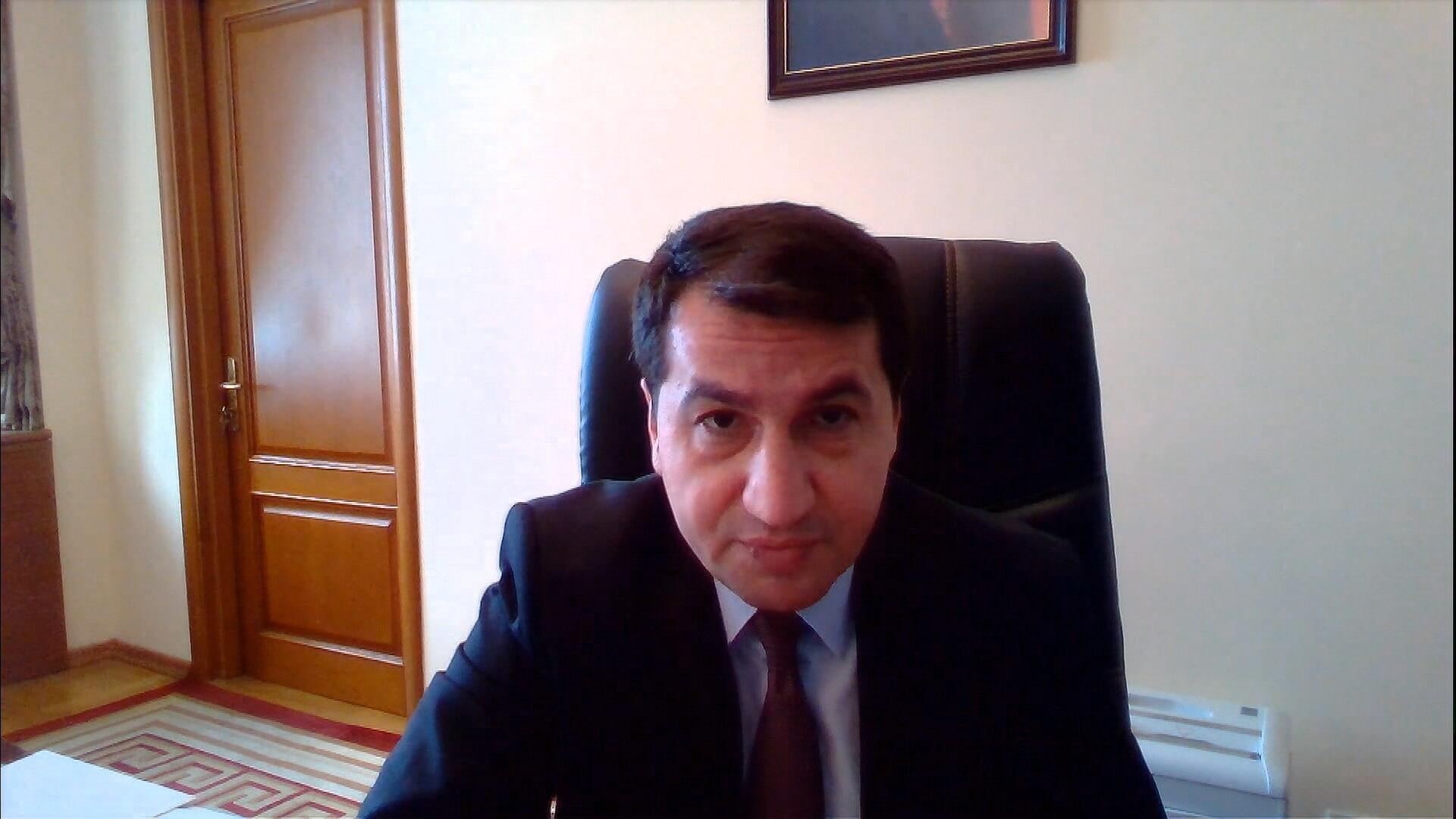 Hikmet Hajiyev, Conseiller spécial de président Azerbaïdjanais, en juillet 2020.