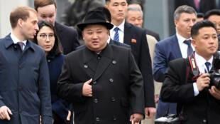 Kim Jong-un est arrivé mercredi à Vladivostok, en Russie. pour son premier sommet avec le président Vladimir Poutine.