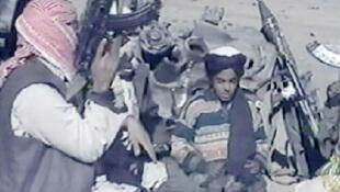 حمزة بن لادن في أفغانستان نوفمبر 2001
