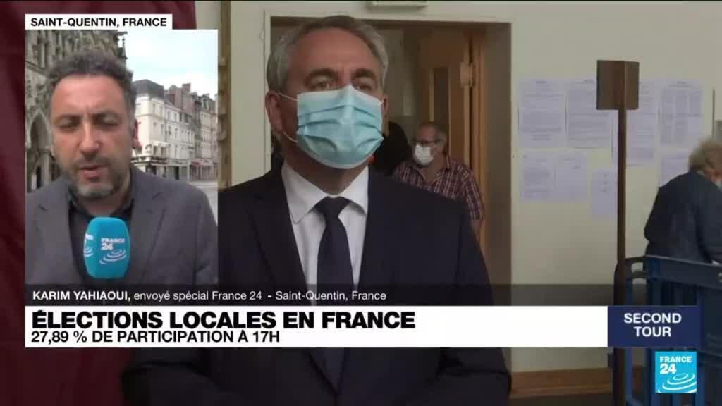 2021-06-27 17:01 Elections locales en France : l'abstention reste record au second tour dans les Hauts-de-France