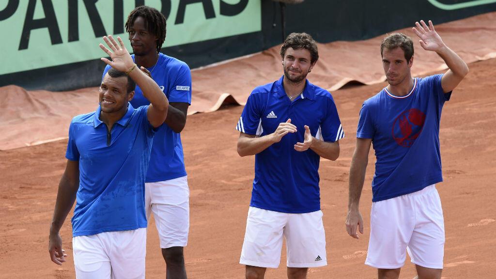 Tsonga, Monfils, Simon et Gasquet, tous absents pour ce quart de finale de Coupe Davis.
