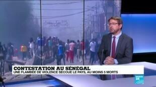 2021-03-08 11:09 Contestation au Sénégal : fermeture des écoles, la mobilisation ne faiblit pas