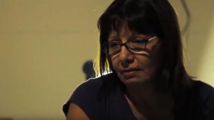 Extracto del documental 'El pacto de Adriana', con el rostro de Adriana Rivas.