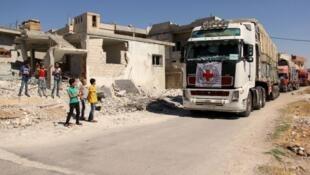 Les relations entre les Etats-Unis et la Russie s'enveniment au sujet de l'aide humanitaire, toujours bloquée.