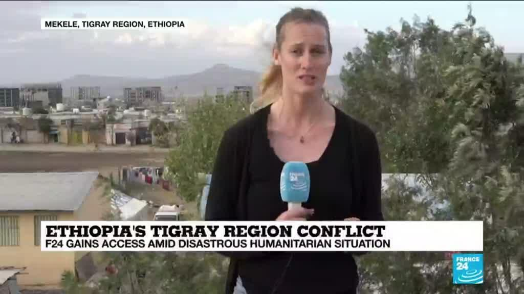 2021-02-26 08:13 Ethiopia's Tigray region conflict: FRANCE 24 gains access amid disastrous humanitarian situation
