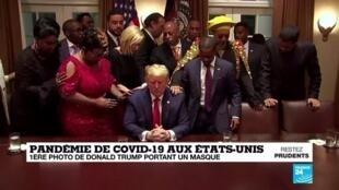 2020-05-22 16:08 Covid-19 aux États-Unis : la gestion chaotique de la pandémie par Donald Trump
