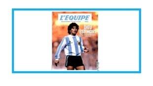 Mort de la légende du football argentin Diego Maradona