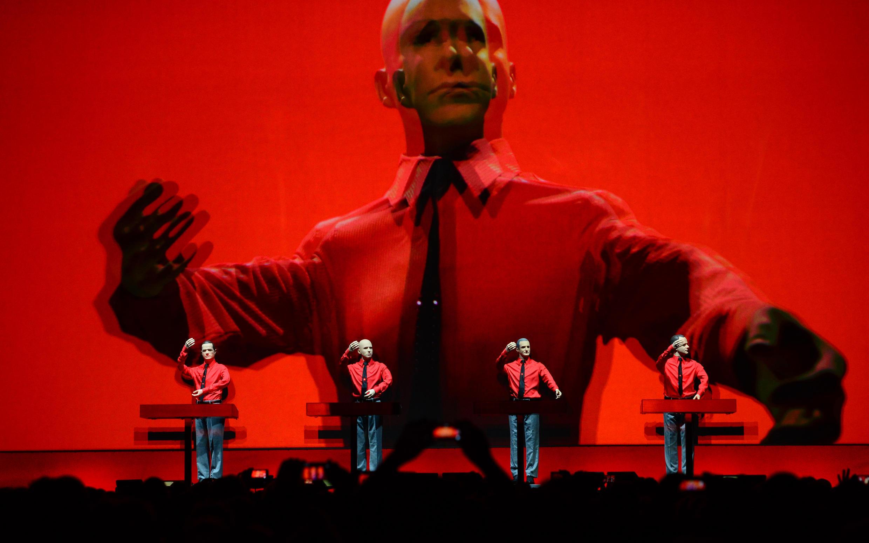 Photo d'archive du groupe Kraftwerk