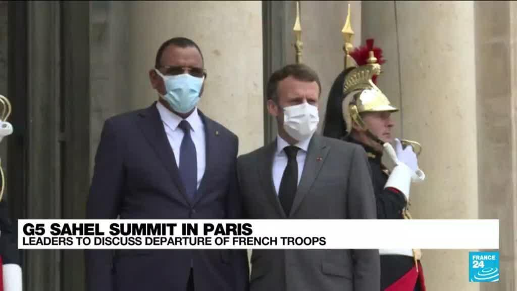 2021-07-09 13:10 Macron to reassure African leaders on commitment to fighting terror