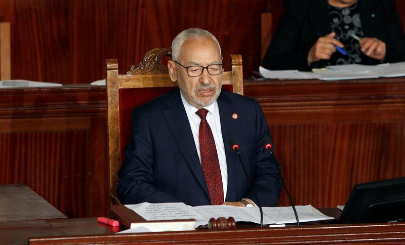 راشد الغنوشي رئيس البرلمان التونسي