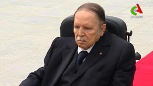 Capture d'écran où figure le président Bouteflika, le 5 juillet 2016.