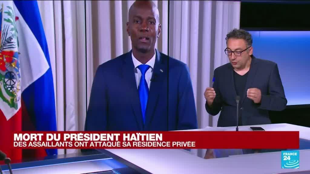2021-07-07 12:38 Mort du président haïtien : des assaillants ont attaqué sa résidence privée