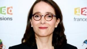 La présidente du groupe France Televisions Delphine Ernotte, le 29 juin 2016 à Paris.