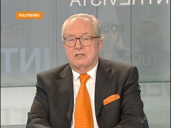 """الرئيس السابق لحزب """"الجبهة الوطنية"""" جان ماري لوبان"""