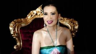 شقيقة ملك تايلاند الأميرة أوبولراتانا في 2008
