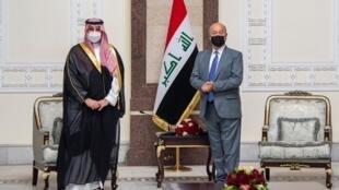 نائب وزير الدفاع السعودي في العراق