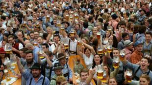 Fête de la bière à Munich le 19 septembre 2015.