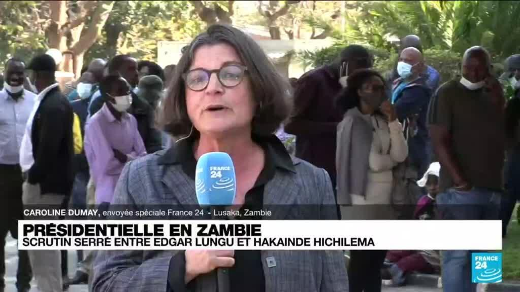 2021-08-12 15:08 Présidentielle en Zambie : scrutin serré entre Edgar Lungu et Hakainde Hichilema