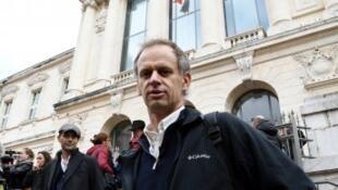 بيير منوني أمام المحكمة في نيس في نوفمبر/ تشرين الثاني 2016