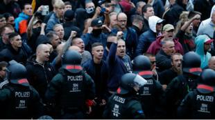 مظاهرة لليمين المتطرف في ألمانيا