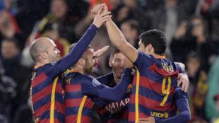 Le Barça n'a pas eu à forcer son talent pour se qualifier en quart de finale de la Ligue des champions.