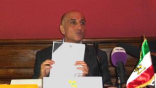 L'opposant iranien Amir Hossein Jahanshahi