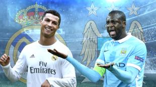 من الأقوى: يايا توري (مانشستر سيتي، يمين) أم  كريستيانو رونالدو (ريال مدريد، يسار)؟